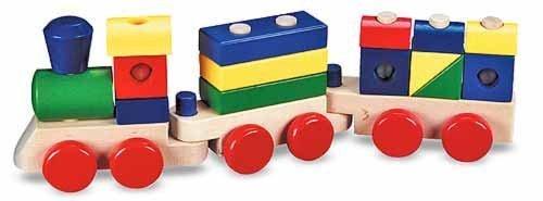 1650: Wooden Train
