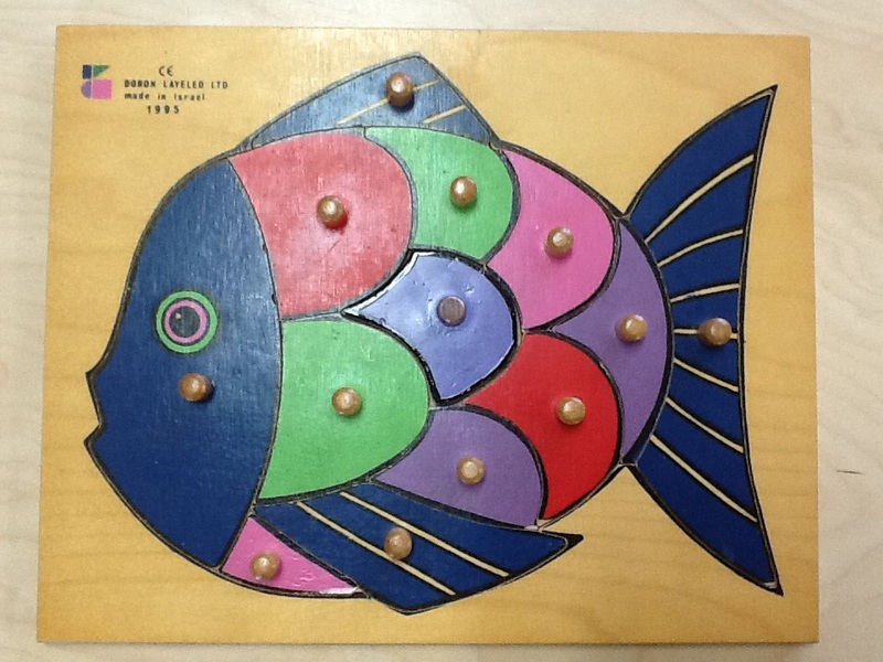 1789: Fish Knobbed Puzzle