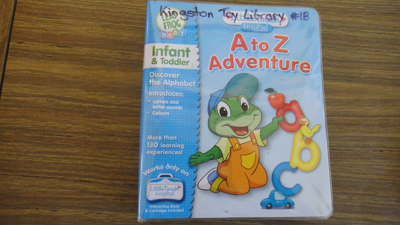 18: A to Z Adventure Little Touch LeapPad