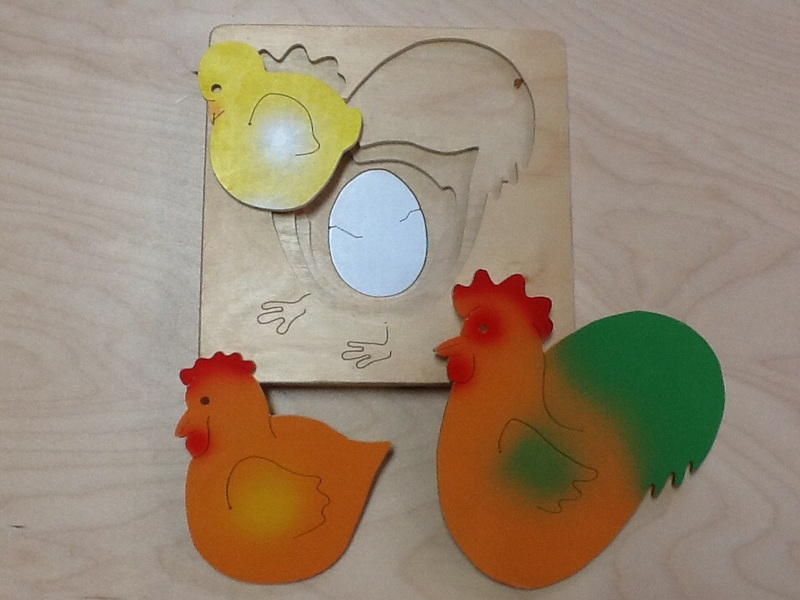 2336: Layered Chicken Puzzle