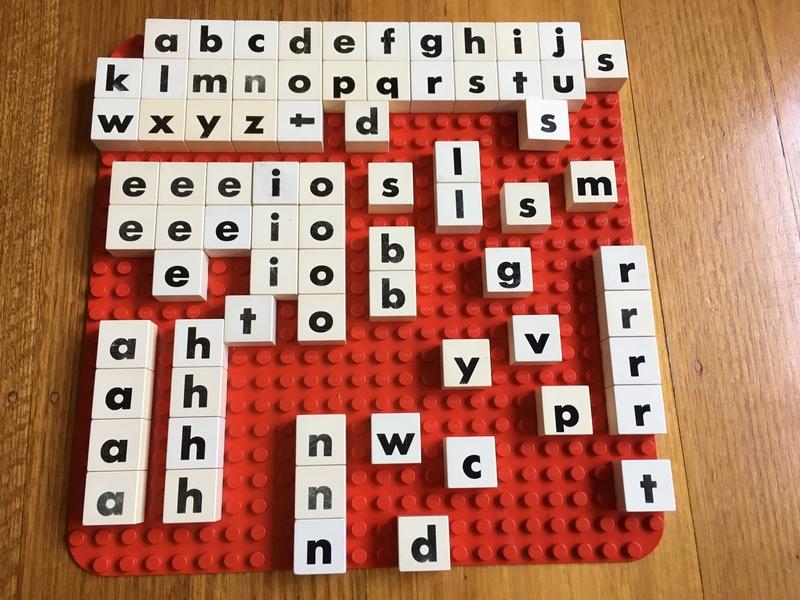 4189: Duplo Alphabet