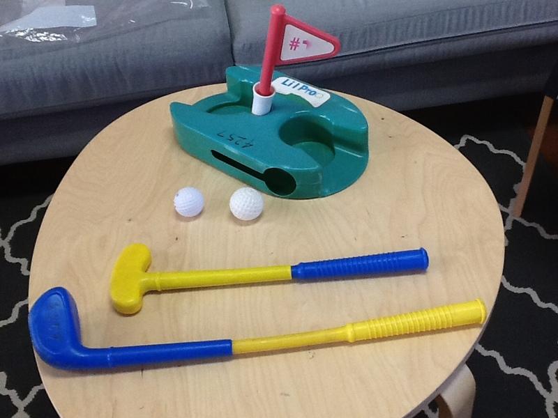 4257: LIL'Pro Golf Set