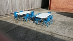 BLUE Chairs & Tables- Olympics Pack