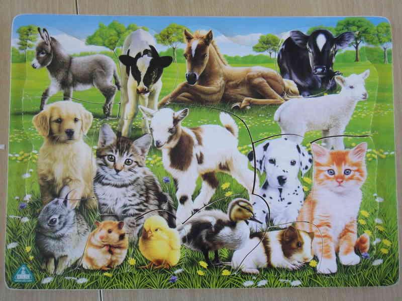 617: Farm Animal Puzzle