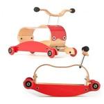 483: Wishbone Flip Red Rocker & Roller