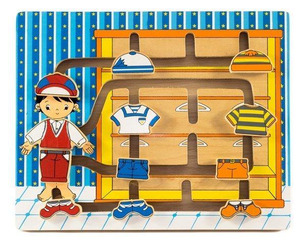881: Inside His Wardrobe Puzzle