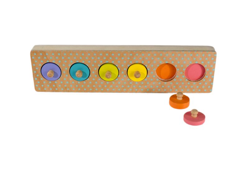 882: Colour Cylinder Puzzle