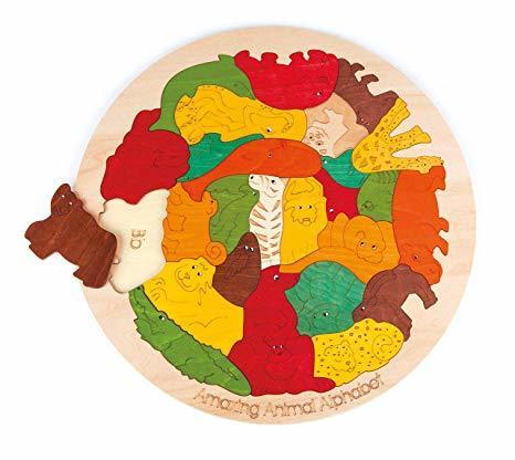 1249: Animal Alphabet Puzzle