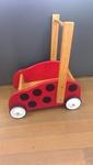1085: Ladybird Wooden Trolley