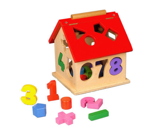513: Shape and Number Sorter House