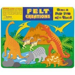 1076: Dinosaur Felt Board