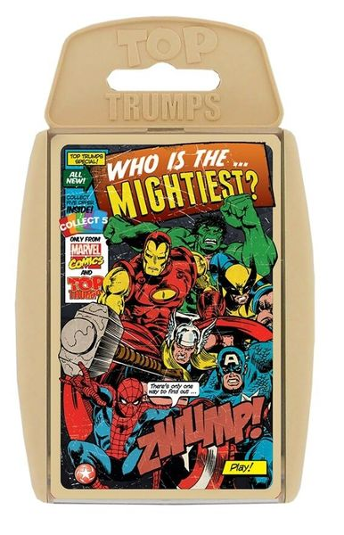 2648: Marvel Retro Top Trumps