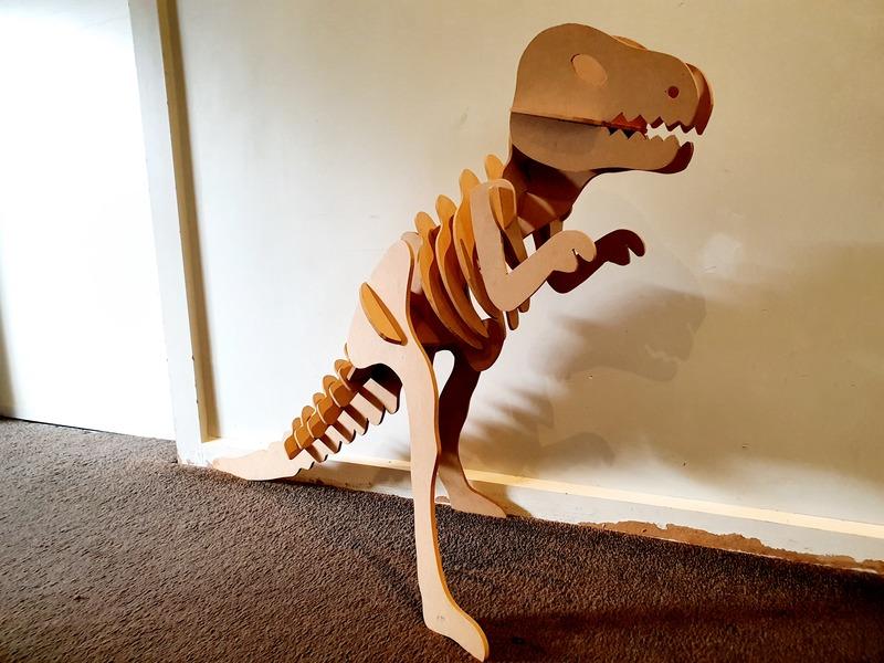 955: T-Rex 3D Puzzle