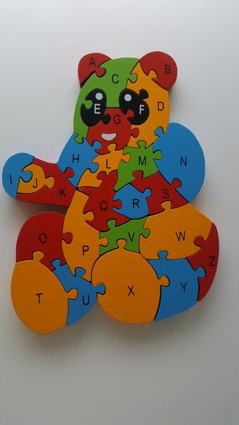 981: Teddy Alphabet Puzzle