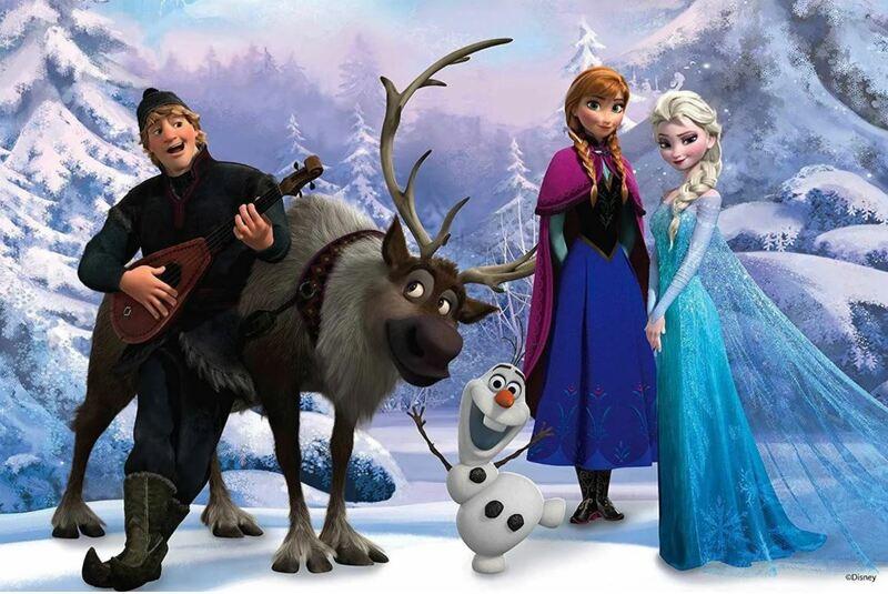 2916: Frozen 3D Puzzle