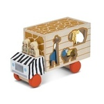1638: Safari Animal Rescue Shape Sorting Truck