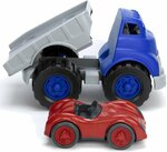 1819: Flatbed Truck & Race Car