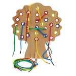 L1582: Wooden Threading Fruit Tree