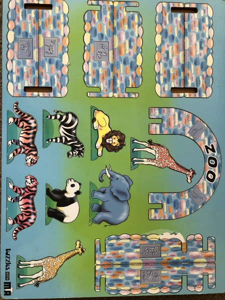 C816: Construct A Puzzle Zoo