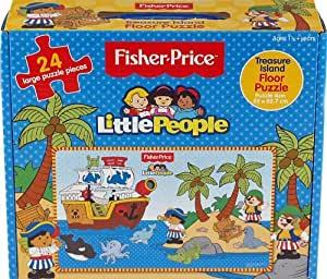 C70: Little people treasure island floor puzzle