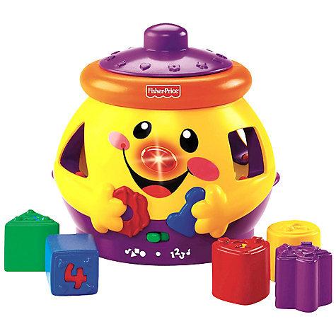 A79: FIsher price sound cookie jar shape sorter