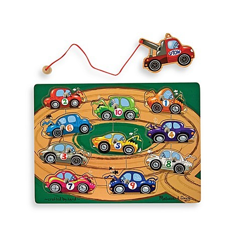 C101: Melissa and doug Magnetic towing puzzle
