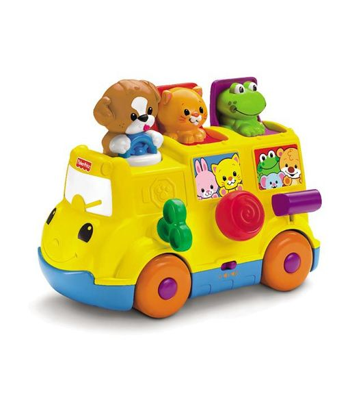 A133: Fisher Price Activity pop up bus