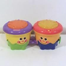 E18: Fisher Price Bongo drums