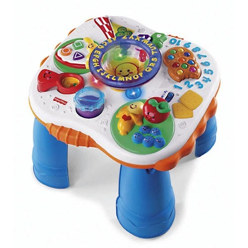 A1239: Fisher price food activity table