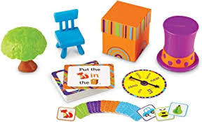 M41: Fox in the Box Positional Words Activity Set