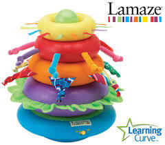 A167: Lamaze Musical Tectured Stacker
