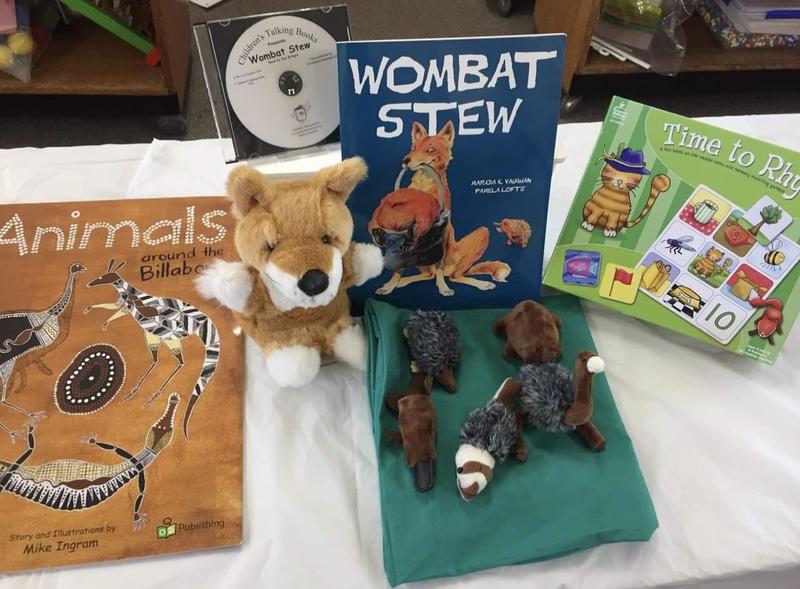SS11: Wombat Stew Storysack