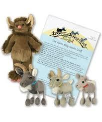 SS23: The Three Billy Goats Gruff  Story Sack - Mandarin / English