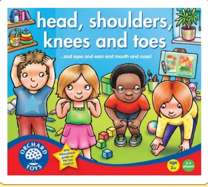 M4: Heads and shoulders knees and toes orchard game