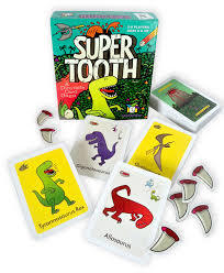 M96: Super tooth dinosaur card game