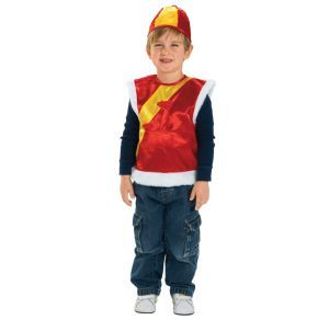 D14: Multicultural Costume Chinese Vest and Hat