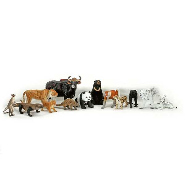 F241: Mojo Asian Animals