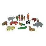 F30: Asian Wilderness wooden animal set