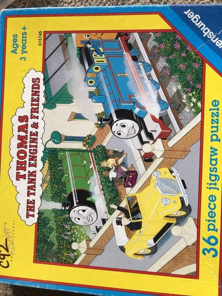 C92: Thomas the Tank engine and friends puzzle