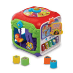 A130: V Tech sort and Discovery Activity Cube