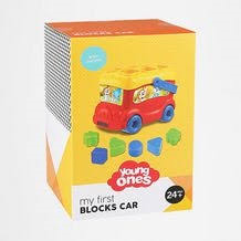 A127: Young Ones My First Blocks Car