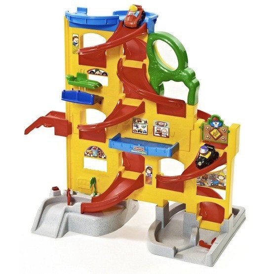G50: Little People Wheelies Stand 'n Play rampway