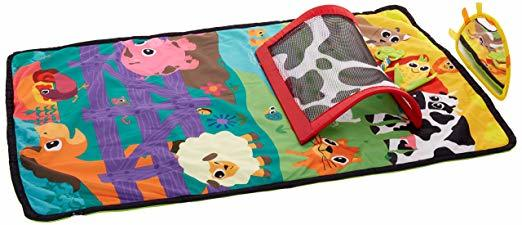 A278: Lamaze Tummy Time air playgym
