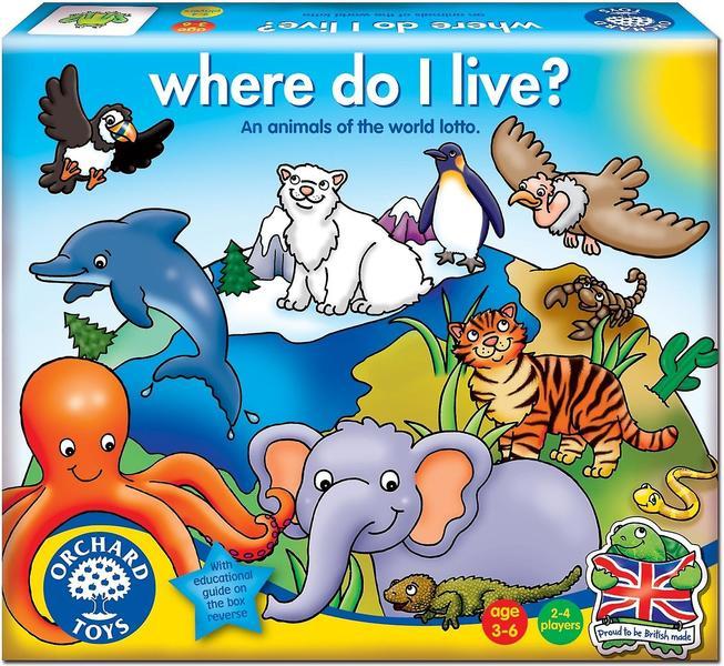 M116: Where Do I Live ? Game