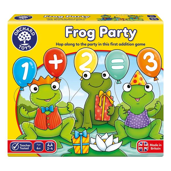 M119: Frog Party Game