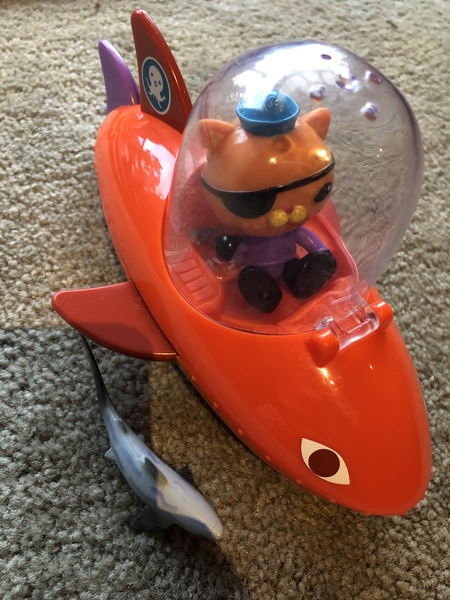 F258: Octonauts Gup B shark playset