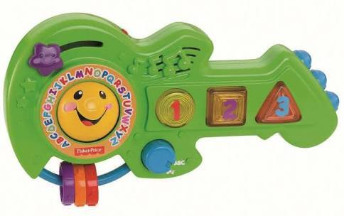A287: Fisher Price Rock and Learn Guitar