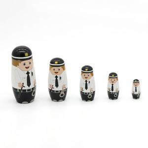 L99: Police Officer Nesting Doll
