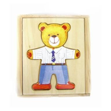 L103: Teddy bear Dress up / emotions