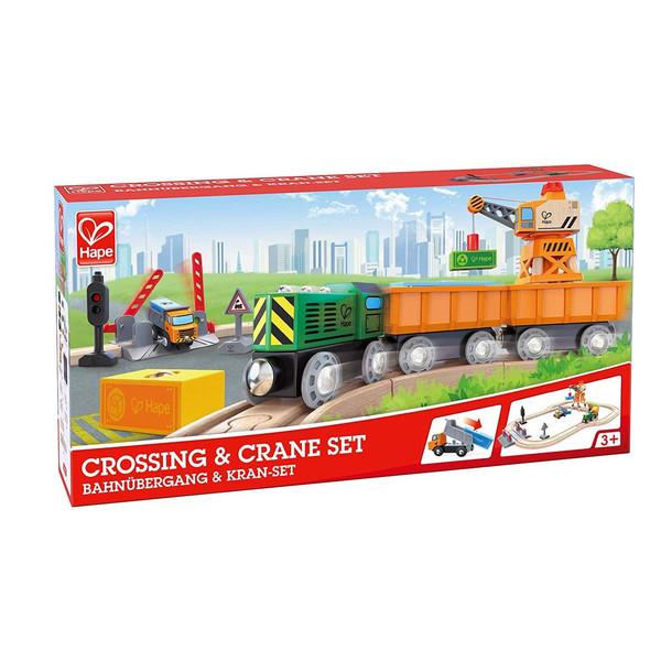 G119: Hape Crossing & Crane Set